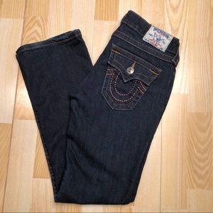True Religion Hi Rise Boot Cut Jeans